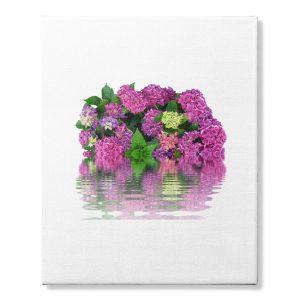 Pretty Purple Flower Canvas Art Print