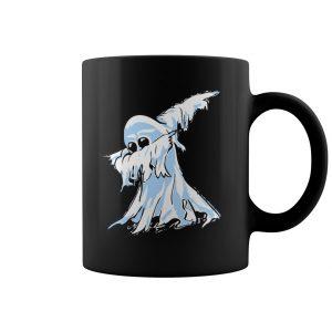 White Spooky Ghost Coffee Mug