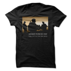 Armed Forces Day Shirt Thank You To All That Served