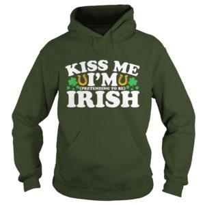 Kiss Me I Am Irish Hoodie