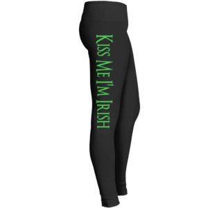 Kiss Me I Am Irish Leggings